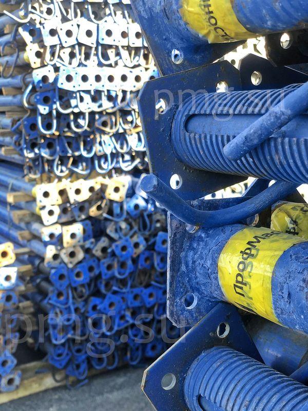 Синяя опалубка перекрытий
